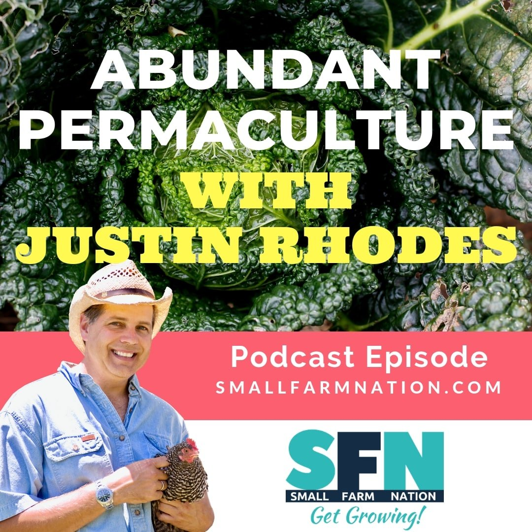 Abundant Permaculture with Justin Rhodes| Backyard Chickens | Homesteading