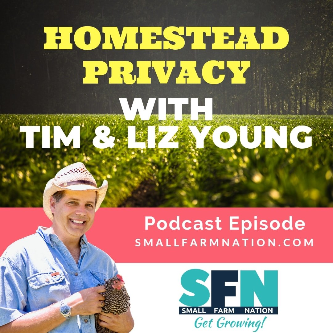 Homestead Privacy with Tim & Liz Young-min