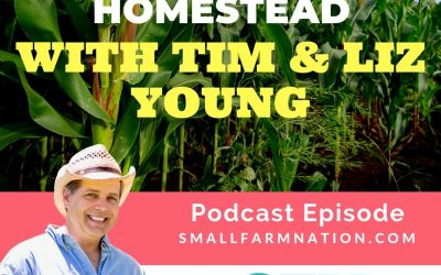 Building a New Homestead with Tim & Liz Young|Farming | Homesteading