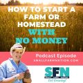 How to Start a Farm or Homestead With No Money-min