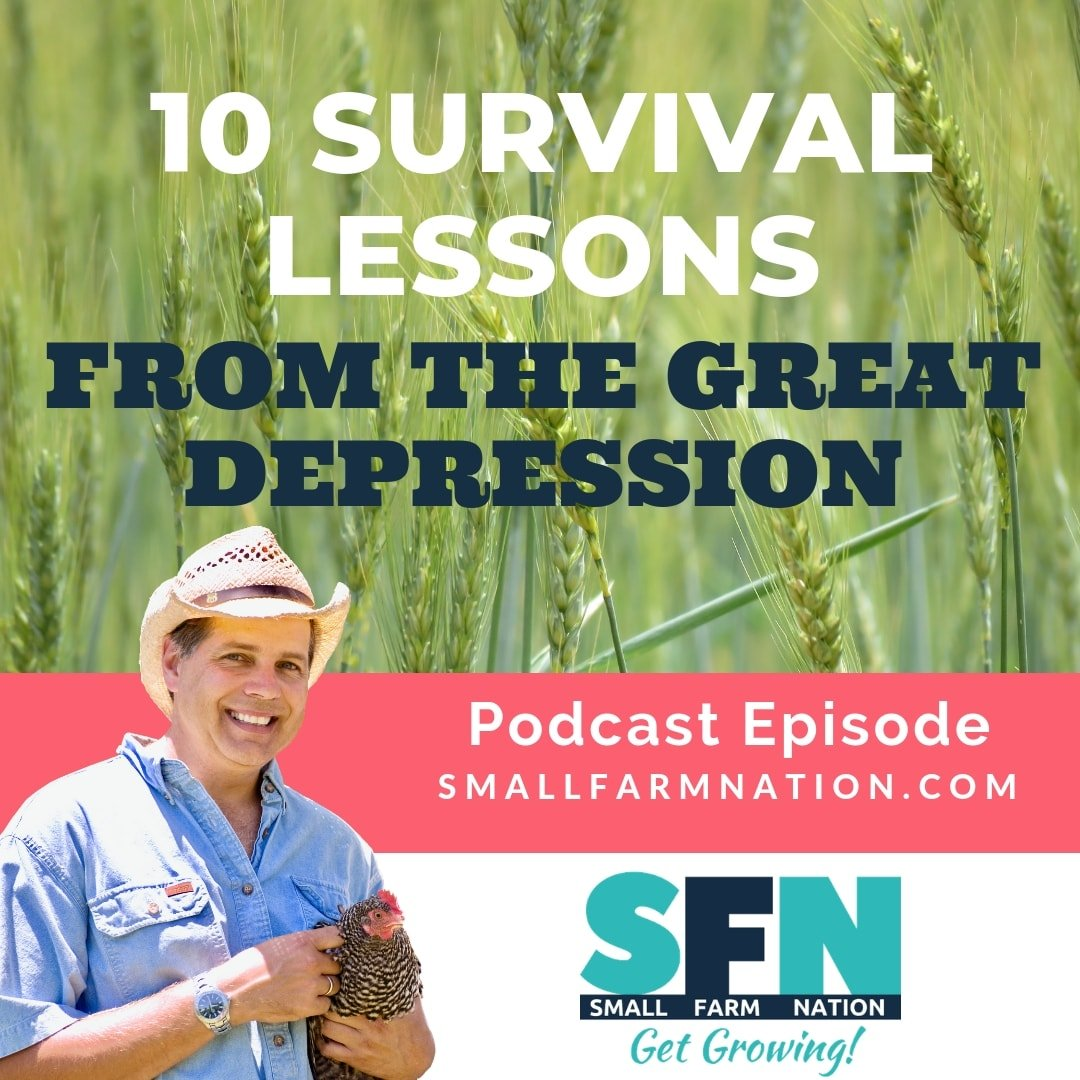 10 Survival Lessons From the Great Depression | Homesteading