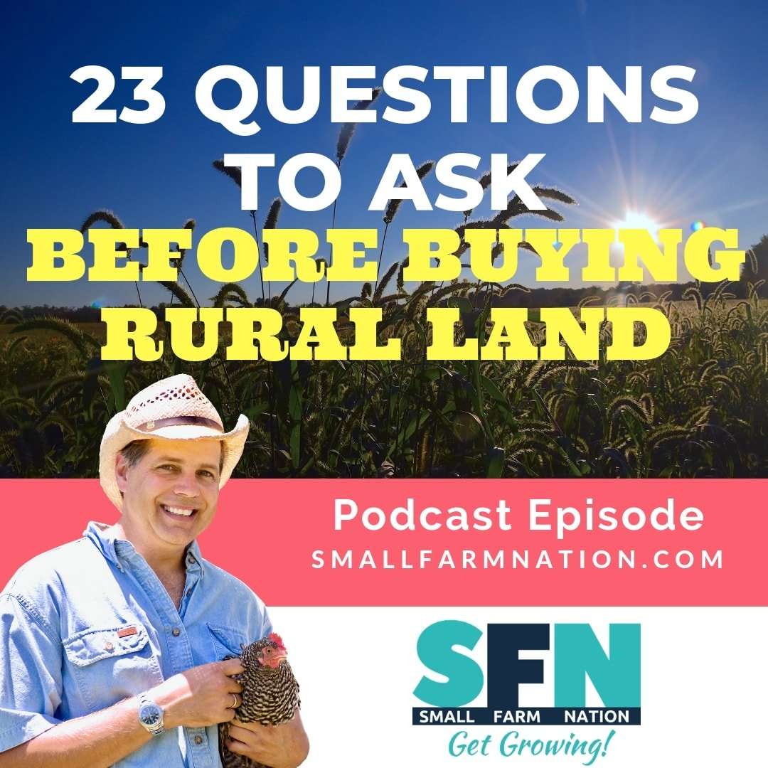 23 Questions to Ask Before Buying Rural Land-min