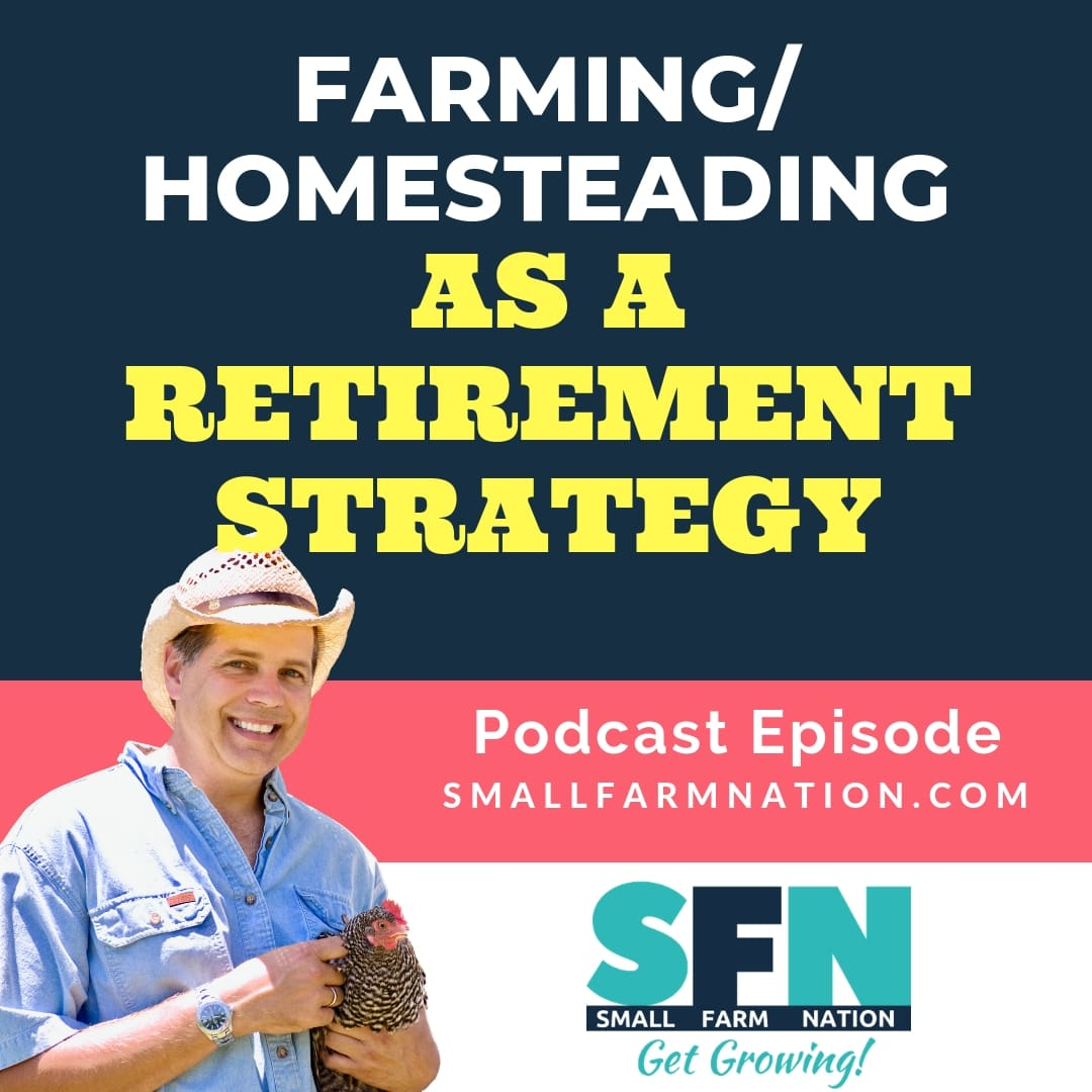 Farming Homesteading as a Retirement Strategy-min