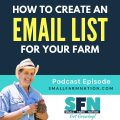 create an email list