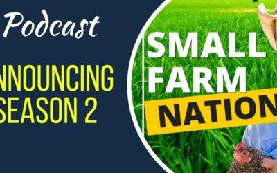 Season 2 Announcement | Homesteading | Farming