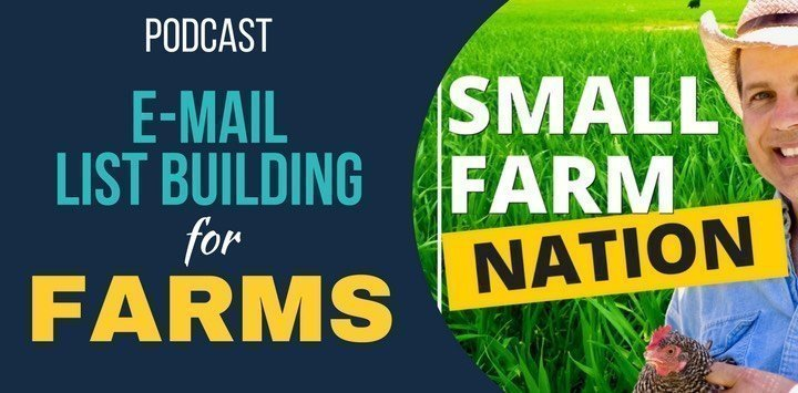 Email List Building 101 For Farmers