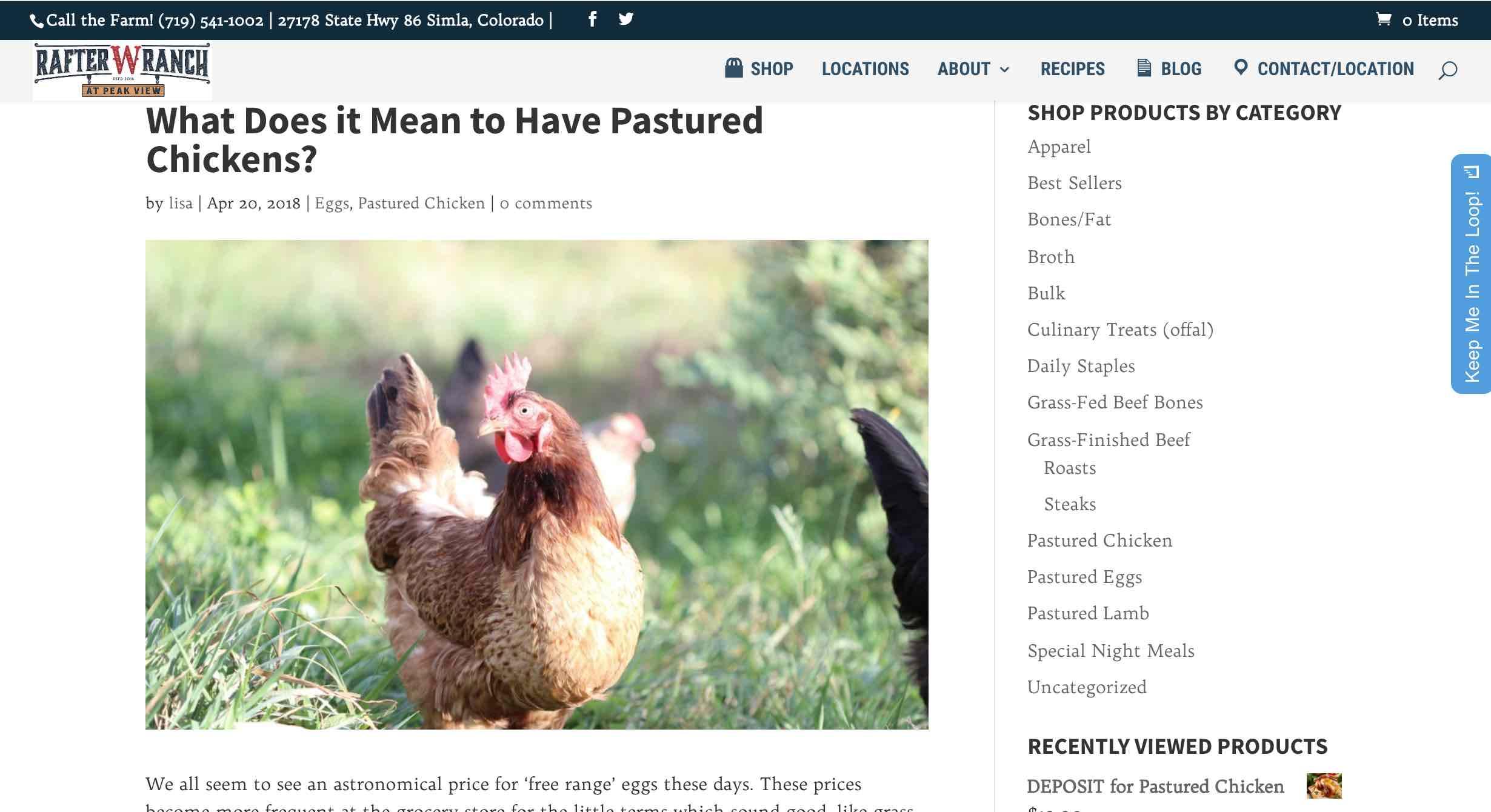 farm website blog