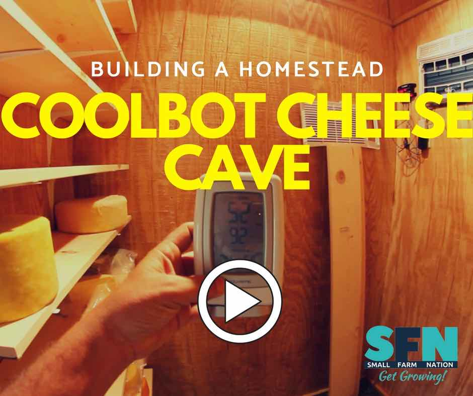 coolbot cheese cave