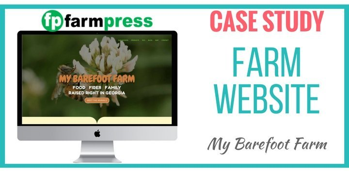 Farm Website Case Study – My Barefoot Farm