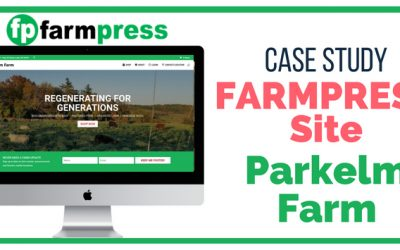 Farm Website Case Study – Parkelm Farm
