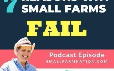 7 Reason Why Small Farms Fail
