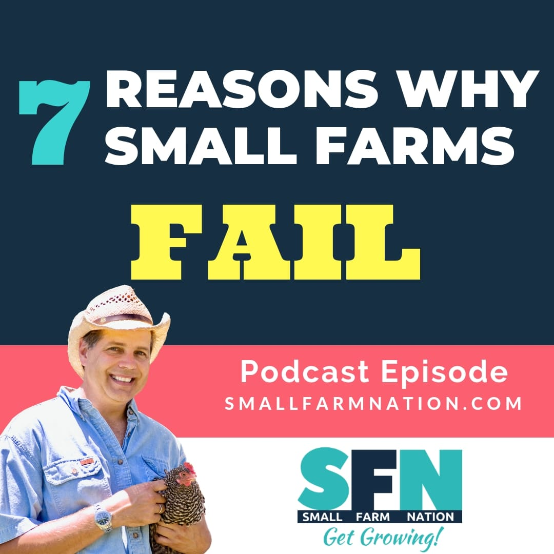 7 Reason Why Small Farms Fail