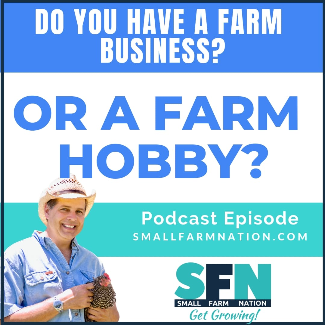 farm business or farm hobby