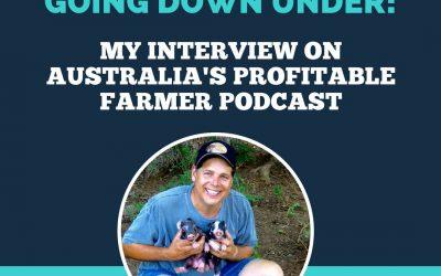 Talking farm marketing on Australia's Profitable Farmer podcast