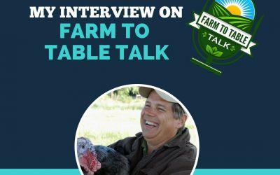 Talking Farm Marketing on the Farm to Table Talk Podcast