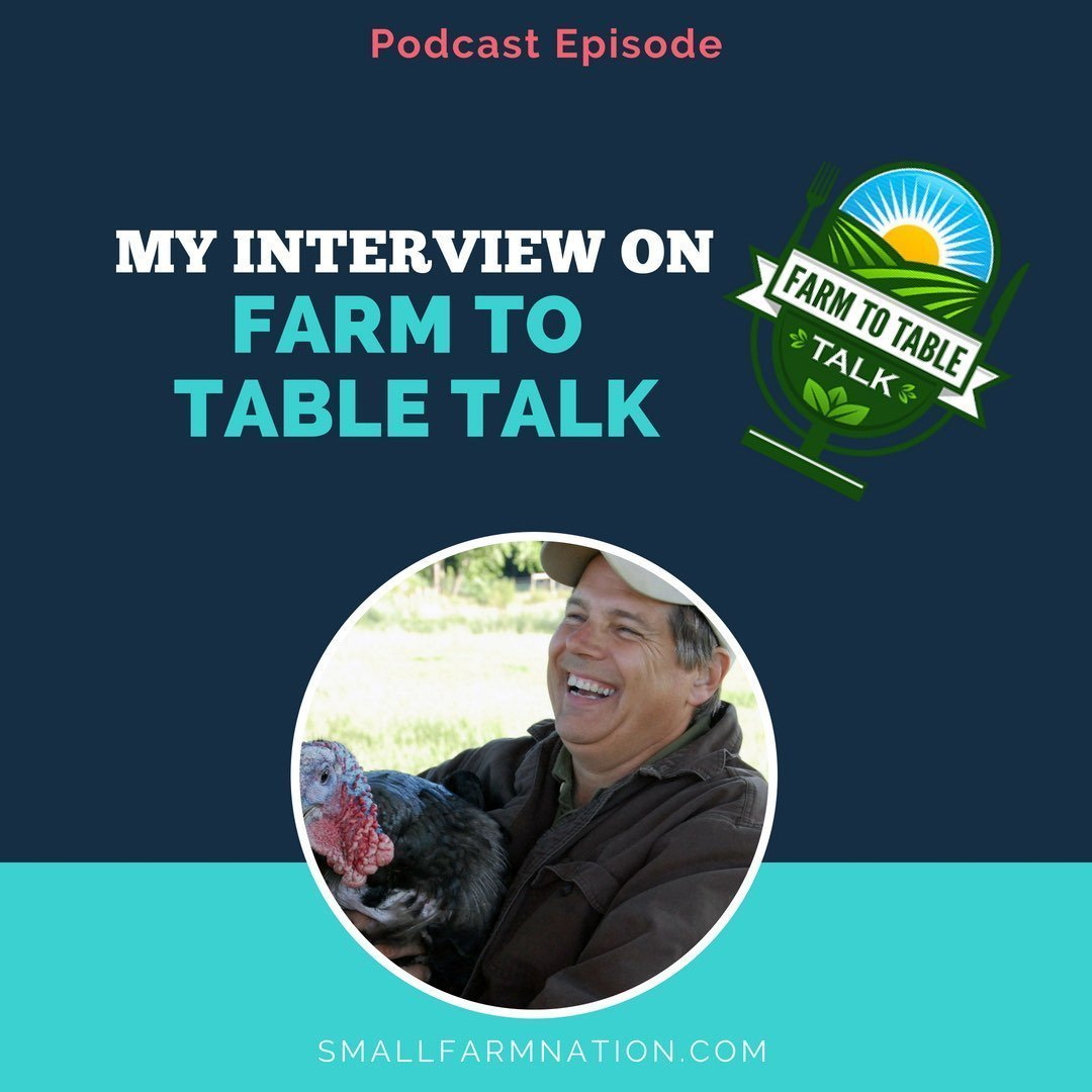 Talking Farm Marketing on the Farm to Table Talk Podcast