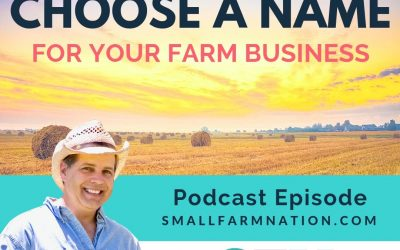 How to choose a name for your farm business