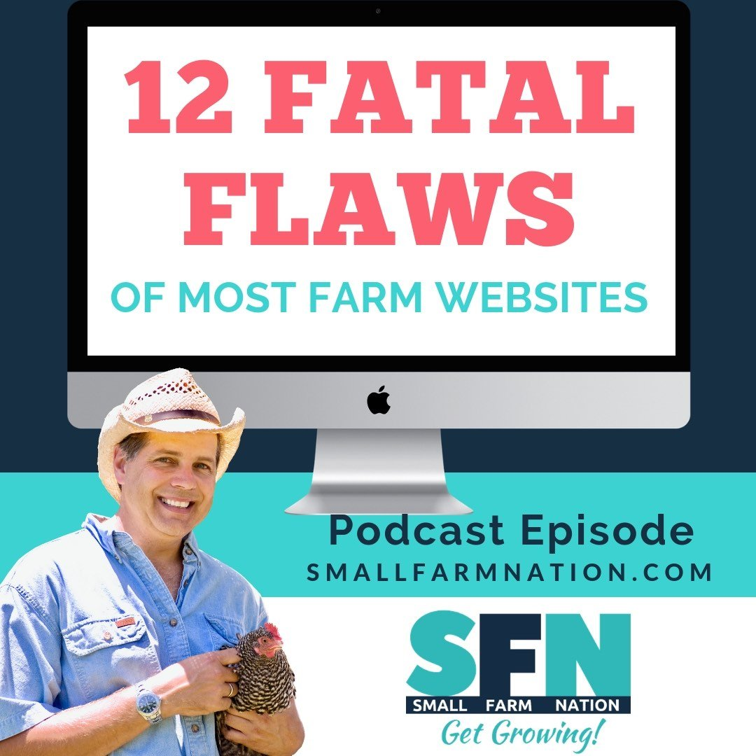 12 Fatal Flaws of Most Farm Websites