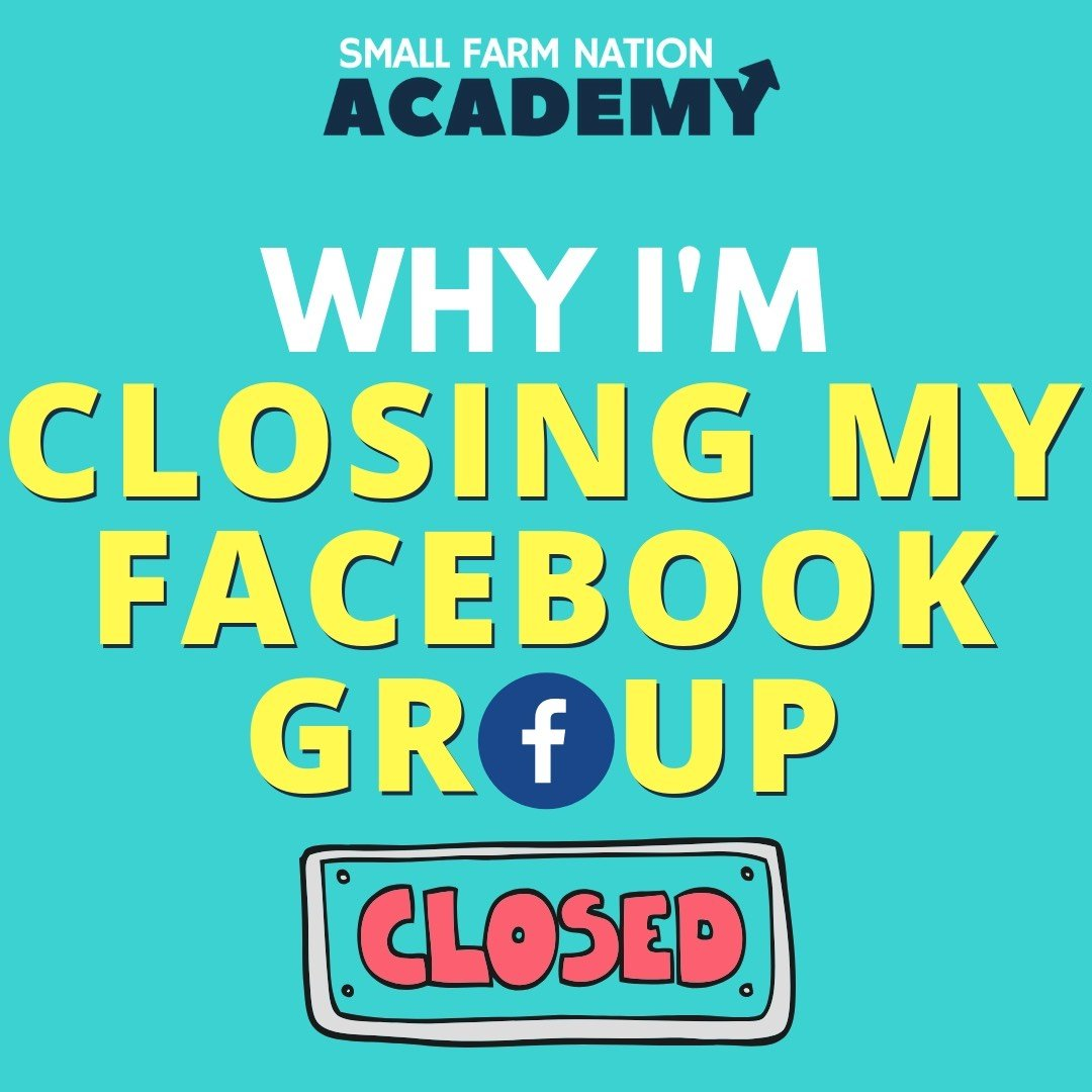 closing facebook group