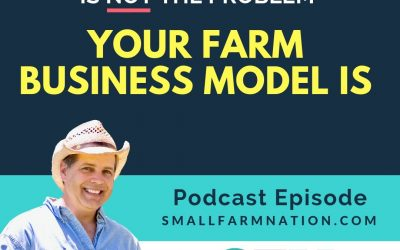 Wal-Mart is NOT the problem. Your farm business model is!