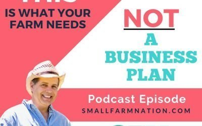 One-Page Farm Business Plan