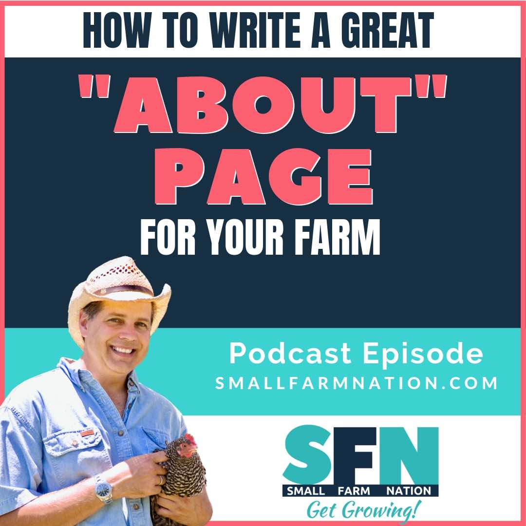 How to Write a Great About Page for Your Farm