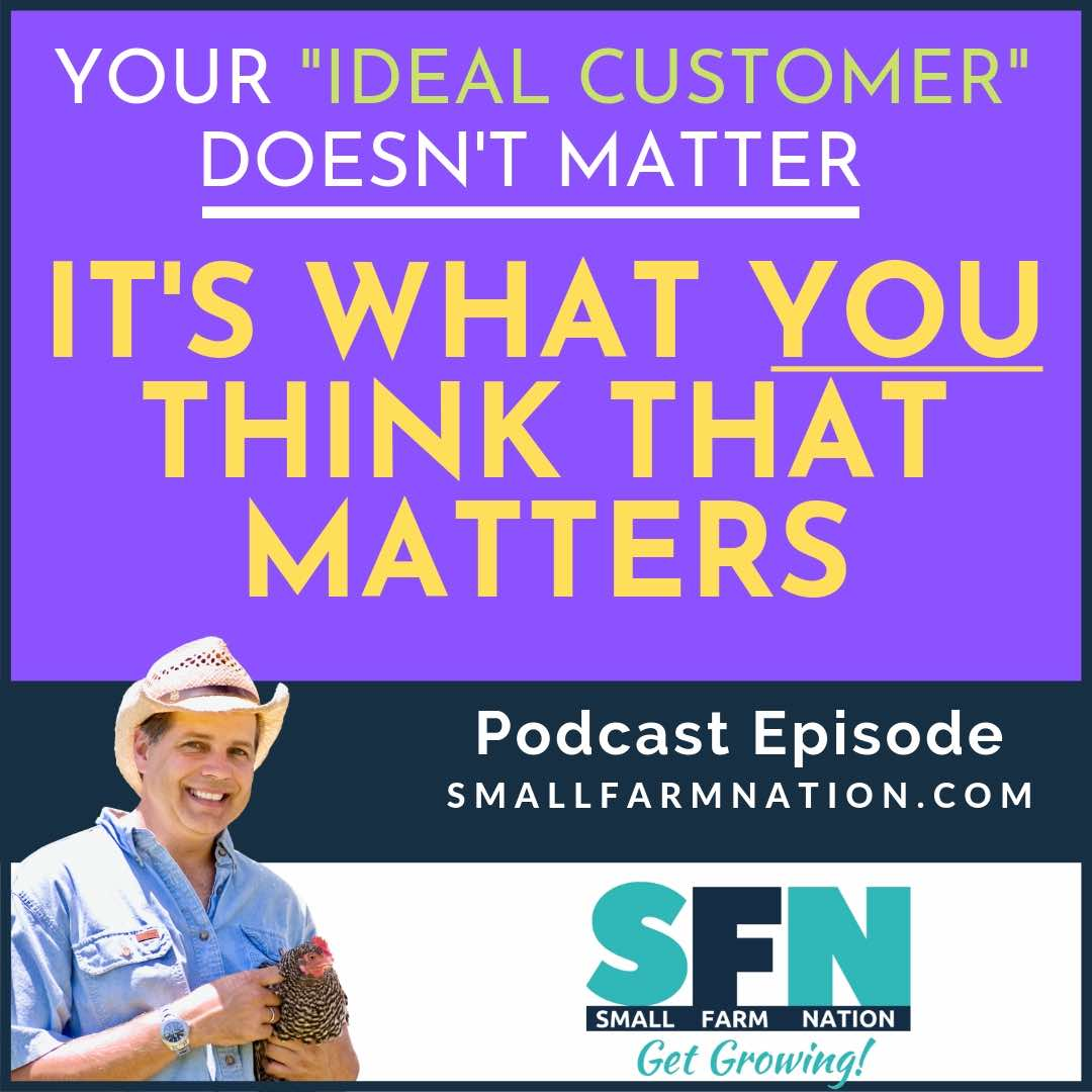 ideal customer doesn't matter