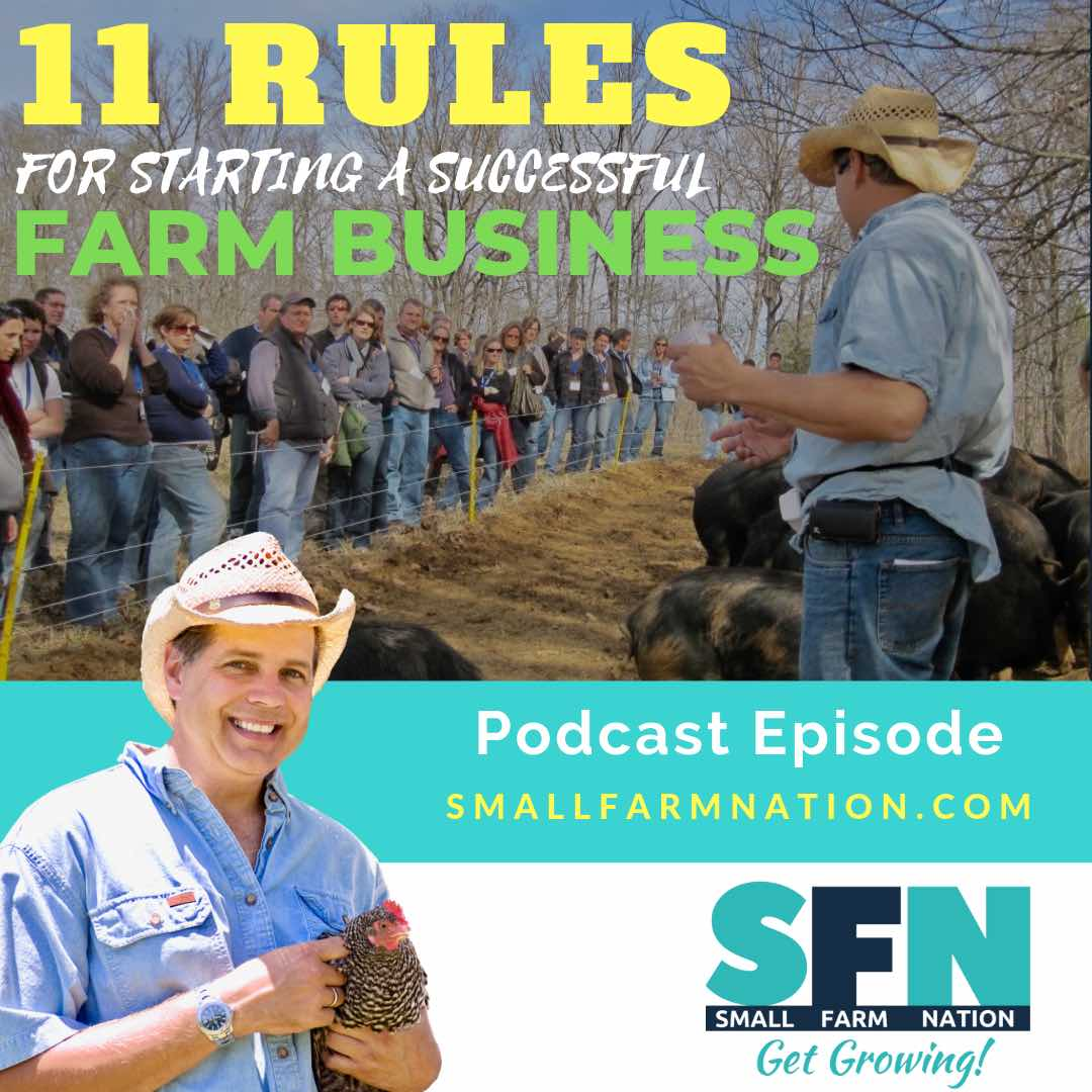 How to Start a Farm Business: Farming Podcast