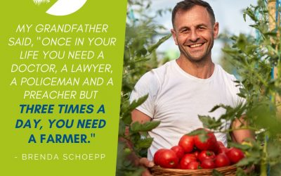 #We're a Small Farm Nation- Need a farmer three times a day