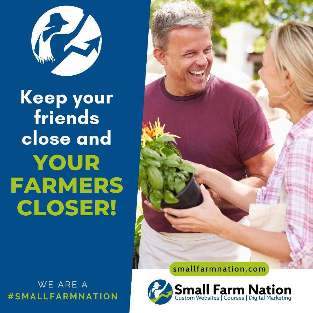 #We're a Small Farm Nation- Keep Your Farmers Close