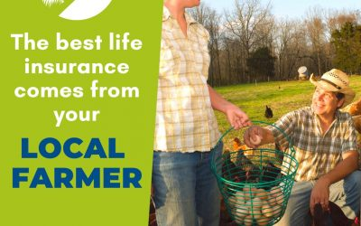 #We're a Small Farm Nation- The best life insurance comes from having a local farmer