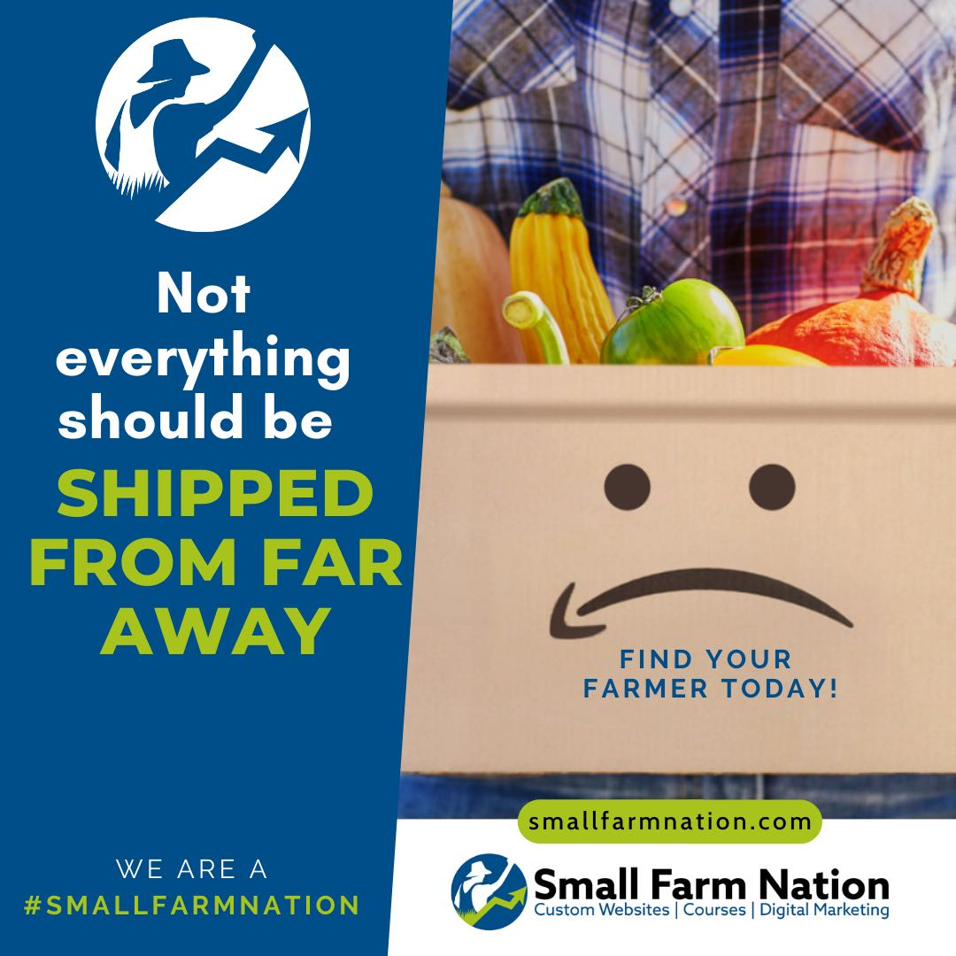 #We're a Small Farm Nation- Buy from your local farmer