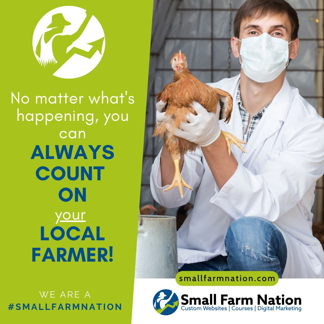 #We're a Small Farm Nation- Count on your local farmer