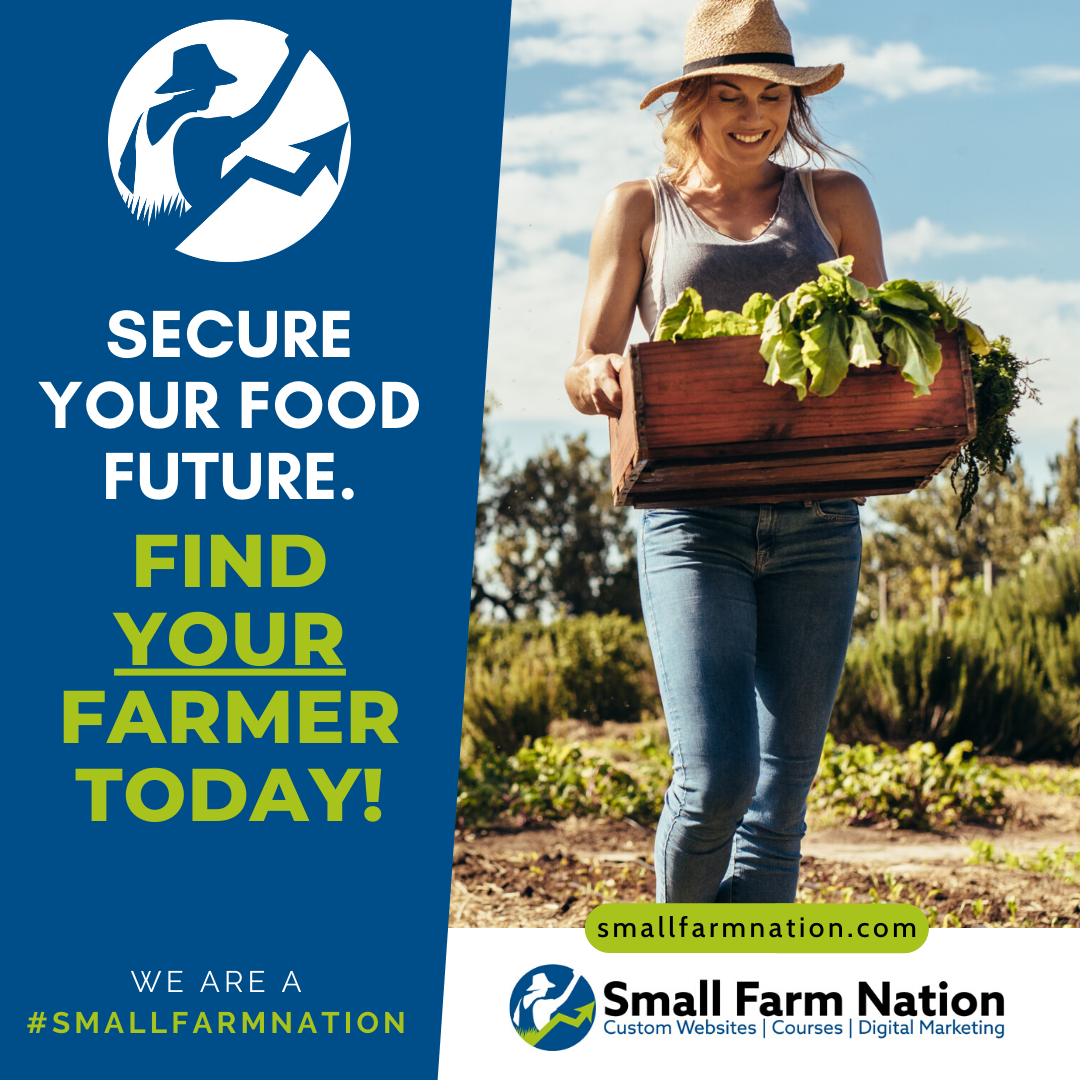 #We're a Small Farm Nation- Secure Your Food