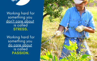 #We're a Small Farm Nation- Stress or Passion?